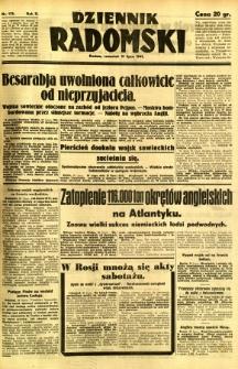 Dziennik Radomski, 1941, R. 2, nr 175