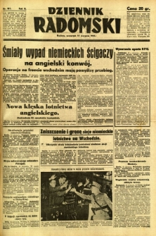 Dziennik Radomski, 1941, R. 2, nr 187