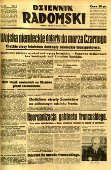 Dziennik Radomski, 1941, R. 2, nr 189