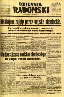 Dziennik Radomski, 1941, R. 2, nr 191
