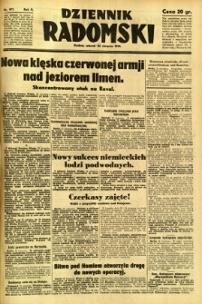 Dziennik Radomski, 1941, R. 2, nr 197