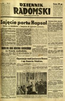 Dziennik Radomski, 1941, R. 2, nr 204
