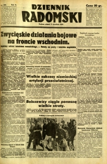 Dziennik Radomski, 1941, R. 2, nr 206