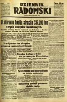 Dziennik Radomski, 1941, R. 2, nr 207