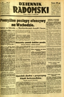 Dziennik Radomski, 1941, R. 2, nr 209