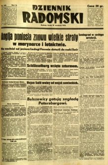 Dziennik Radomski, 1941, R. 2, nr 210