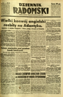 Dziennik Radomski, 1941, R. 2, nr 214