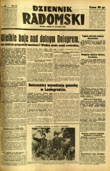 Dziennik Radomski, 1941, R. 2, nr 218
