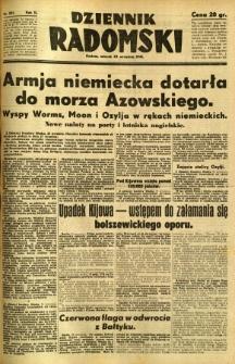 Dziennik Radomski, 1941, R. 2, nr 221