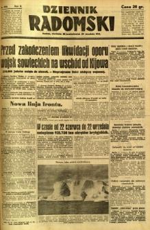 Dziennik Radomski, 1941, R. 2, nr 226