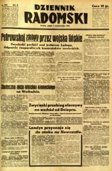 Dziennik Radomski, 1941, R. 2, nr 230