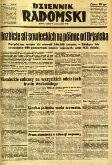 Dziennik Radomski, 1941, R. 2, nr 242