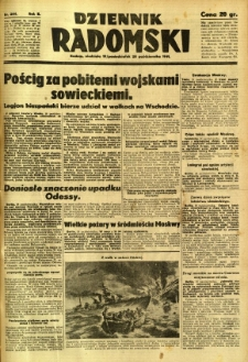 Dziennik Radomski, 1941, R. 2, nr 244