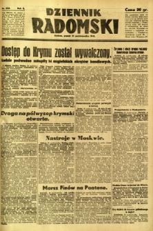 Dziennik Radomski, 1941, R. 2, nr 254