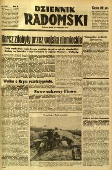 Dziennik Radomski, 1941, R. 2, nr 270