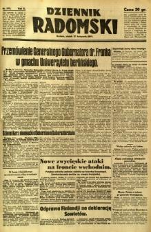 Dziennik Radomski, 1941, R. 2, nr 272