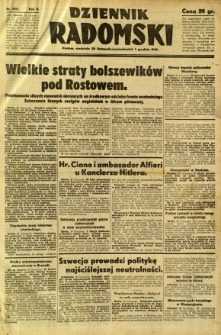 Dziennik Radomski, 1941, R. 2, nr 280