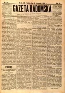 Gazeta Radomska, 1889, R. 6, nr 90