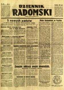 Dziennik Radomski, 1941, R. 2, nr 293