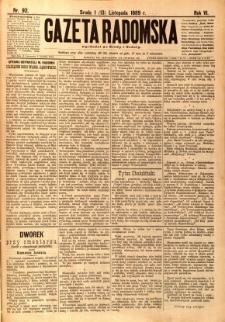 Gazeta Radomska, 1889, R. 6, nr 92