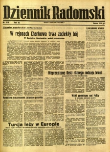 Dziennik Radomski, 1942, R. 3, nr 118