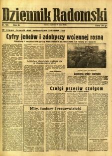 Dziennik Radomski, 1942, R. 3, nr 124