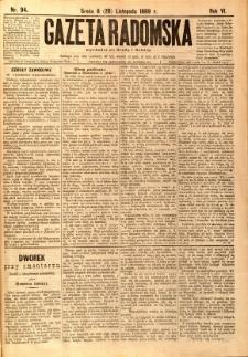 Gazeta Radomska, 1889, R. 6, nr 94