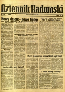 Dziennik Radomski, 1942, R. 3, nr 129