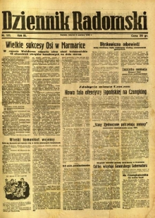 Dziennik Radomski, 1942, R. 3, nr 131