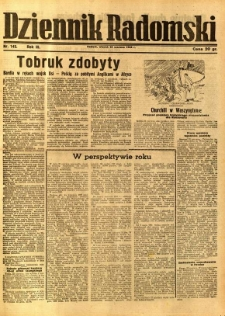 Dziennik Radomski, 1942, R. 3, nr 143