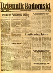 Dziennik Radomski, 1942, R. 3, nr 144