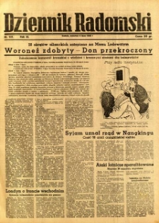 Dziennik Radomski, 1942, R. 3, nr 157