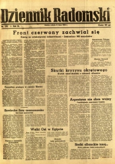 Dziennik Radomski, 1942, R. 3, nr 159