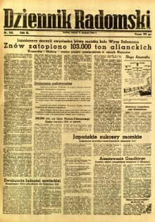 Dziennik Radomski, 1942, R. 3, nr 185