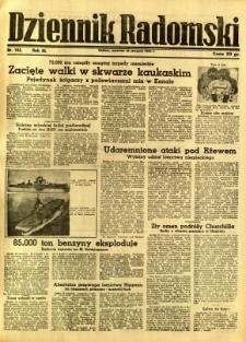 Dziennik Radomski, 1942, R. 3, nr 193