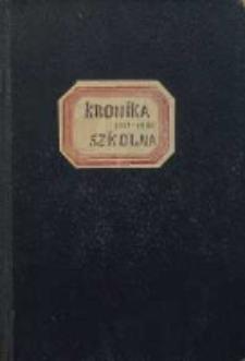 Kronika szkolna 1951-1966