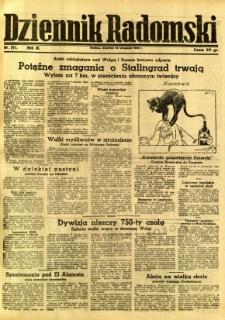 Dziennik Radomski, 1942, R. 3, nr 211