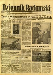 Dziennik Radomski, 1942, R. 3, nr 222