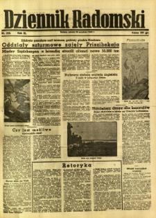 Dziennik Radomski, 1942, R. 3, nr 225