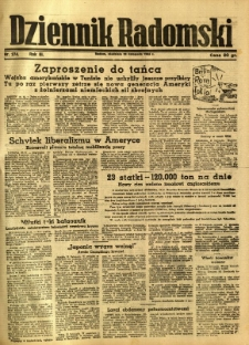 Dziennik Radomski, 1942, R. 3, nr 274