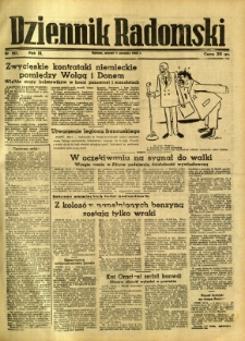 Dziennik Radomski, 1942, R. 3, nr 281