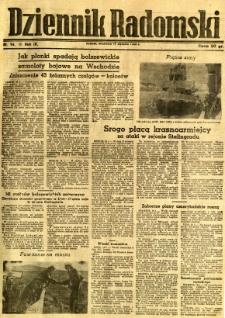 Dziennik Radomski, 1943, R. 4, nr 14
