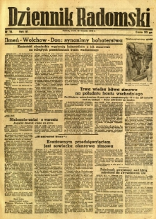 Dziennik Radomski, 1943, R. 4, nr 16