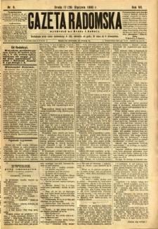 Gazeta Radomska, 1890, R. 7, nr 9