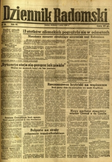 Dziennik Radomski, 1943, R. 4, nr 56