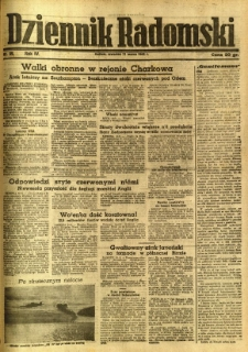 Dziennik Radomski, 1943, R. 4, nr 59