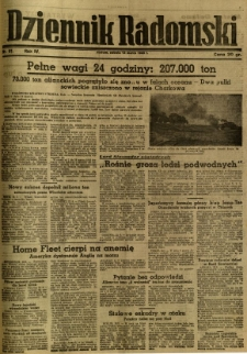 Dziennik Radomski, 1943, R. 4, nr 61