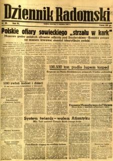 Dziennik Radomski, 1943, R. 4, nr 89