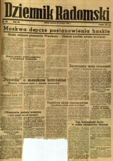 Dziennik Radomski, 1943, R. 4, nr 95