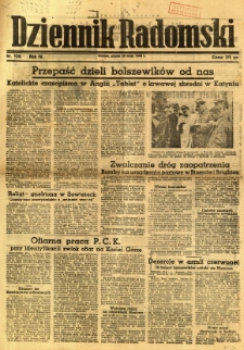 Dziennik Radomski, 1943, R. 4, nr 124